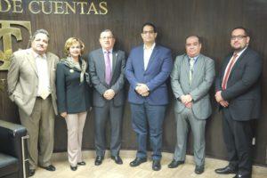 Visita del Director del Registro Público de Panamá