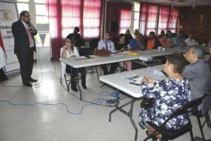 Magistrado Vicepresidente Del Rosario promueve labor del Tribunal de Cuentas