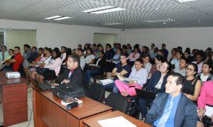 MAS DE 100 ESTUDIANTES DE UNESCPA RECIBEN CAPACITACIÓN SOBRE LA LEY 67 DE 2008